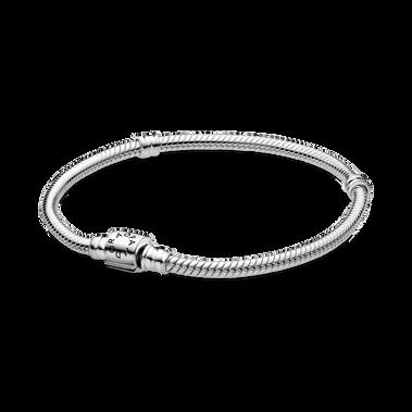 Pandora Moments Barrel Clasp Snake Chain Bracelet