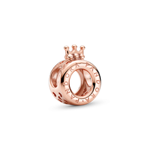 Pandora Logo & Crown O Charm