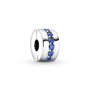 Blue Sparkle Clip Charm