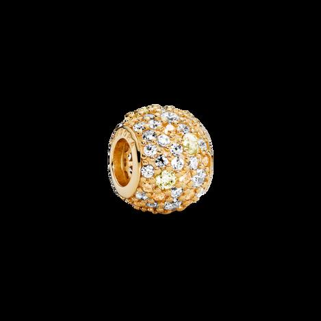 Golden Pavé Charm