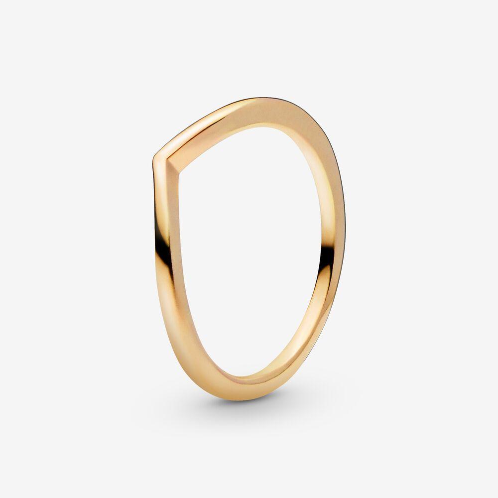 Polished Wishbone Ring Pandora Sg