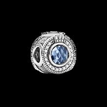 Sparkling Blue Crown O charm