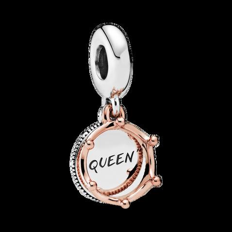 Queen & Regal Crown Dangle Charm