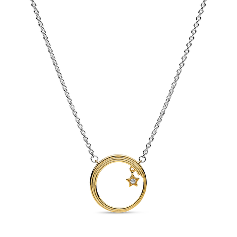 Celestial Shooting Star Necklace