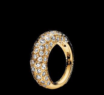 Sparkling Pattern Ring