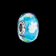 Rainbow Murano Glass Charm