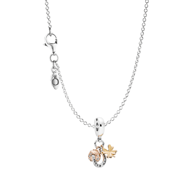 Horseshoe, Clover and Ladybird Pendant Necklace Gift Set
