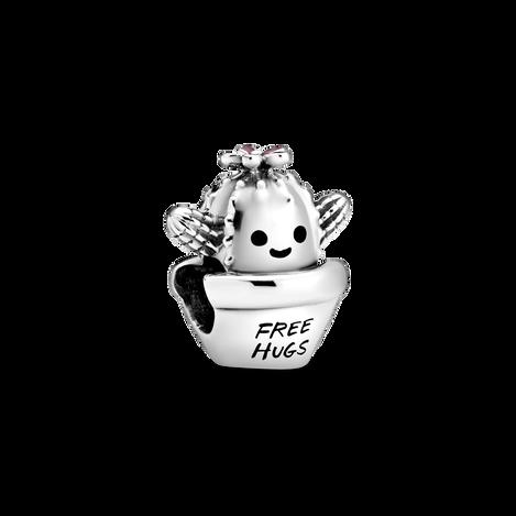 Free Hugs Cactus Charm
