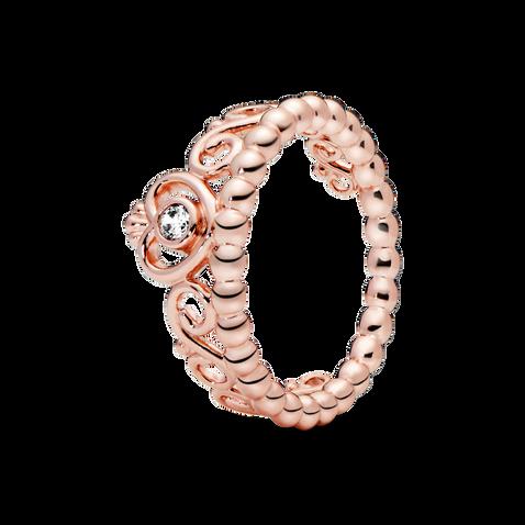 Pandora Rose Princess Tiara Crown Ring