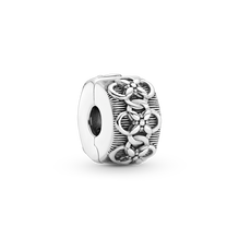 Flower Pattern Clip Charm