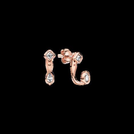 Geometric Shapes Stud Earrings