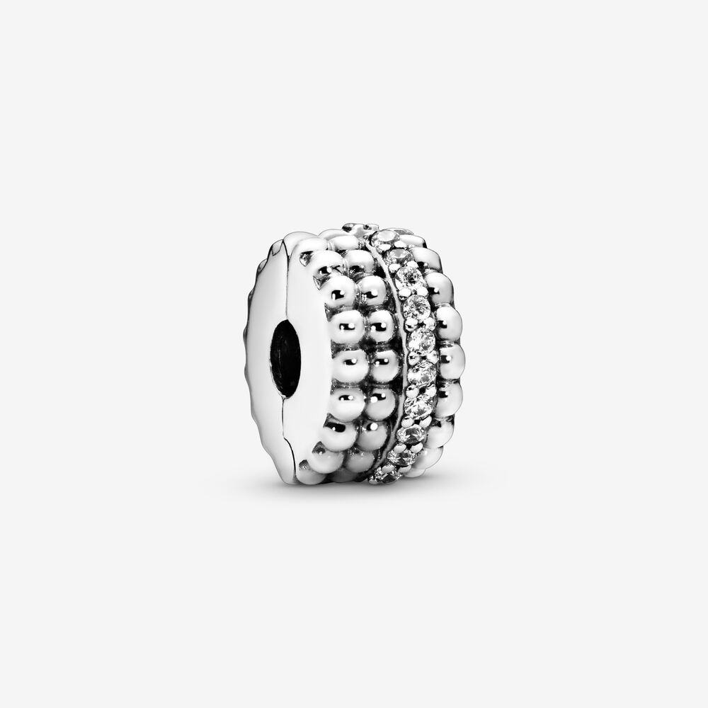 Beaded Clip Charm Pandora Sg