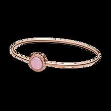 Pink Swirl Bangle