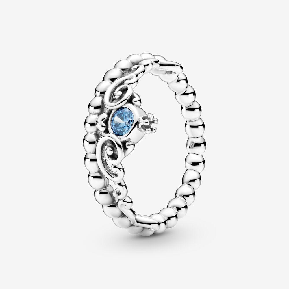 Disney Cinderella Blue Tiara Ring | Pandora SG