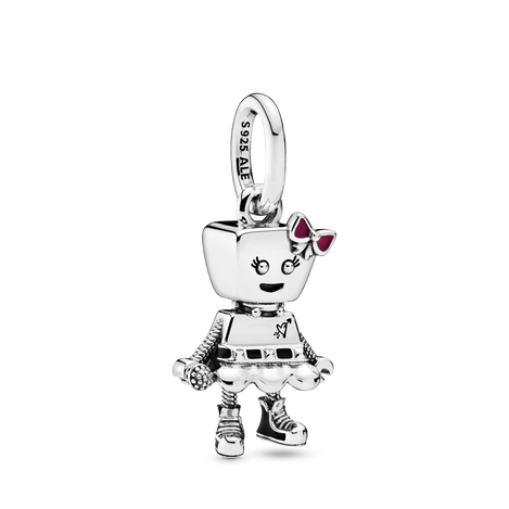 Bella Bot Punk Band Dangle Charm