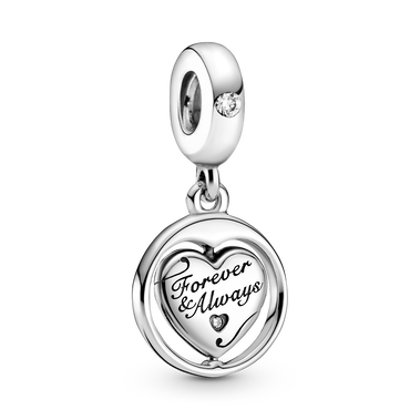 Spinning Forever & Always Soulmate Dangle Charm