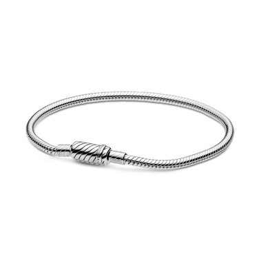 Pandora Moments Sliding Magnetic Clasp Snake Chain Bracelet