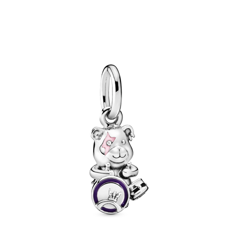 Theodore Bear Punk Band Dangle Charm