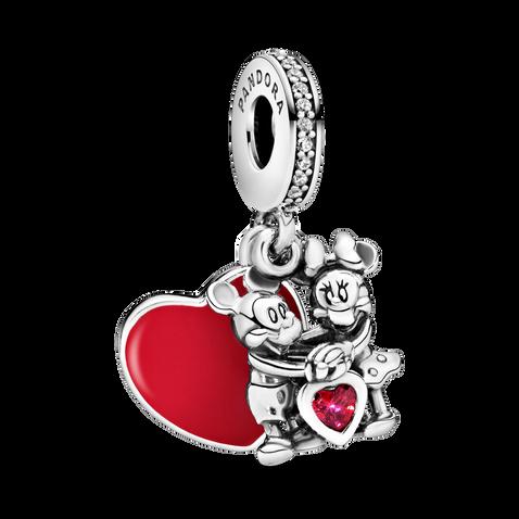 Disney Minnie & Mickey with Love Dangle Charm