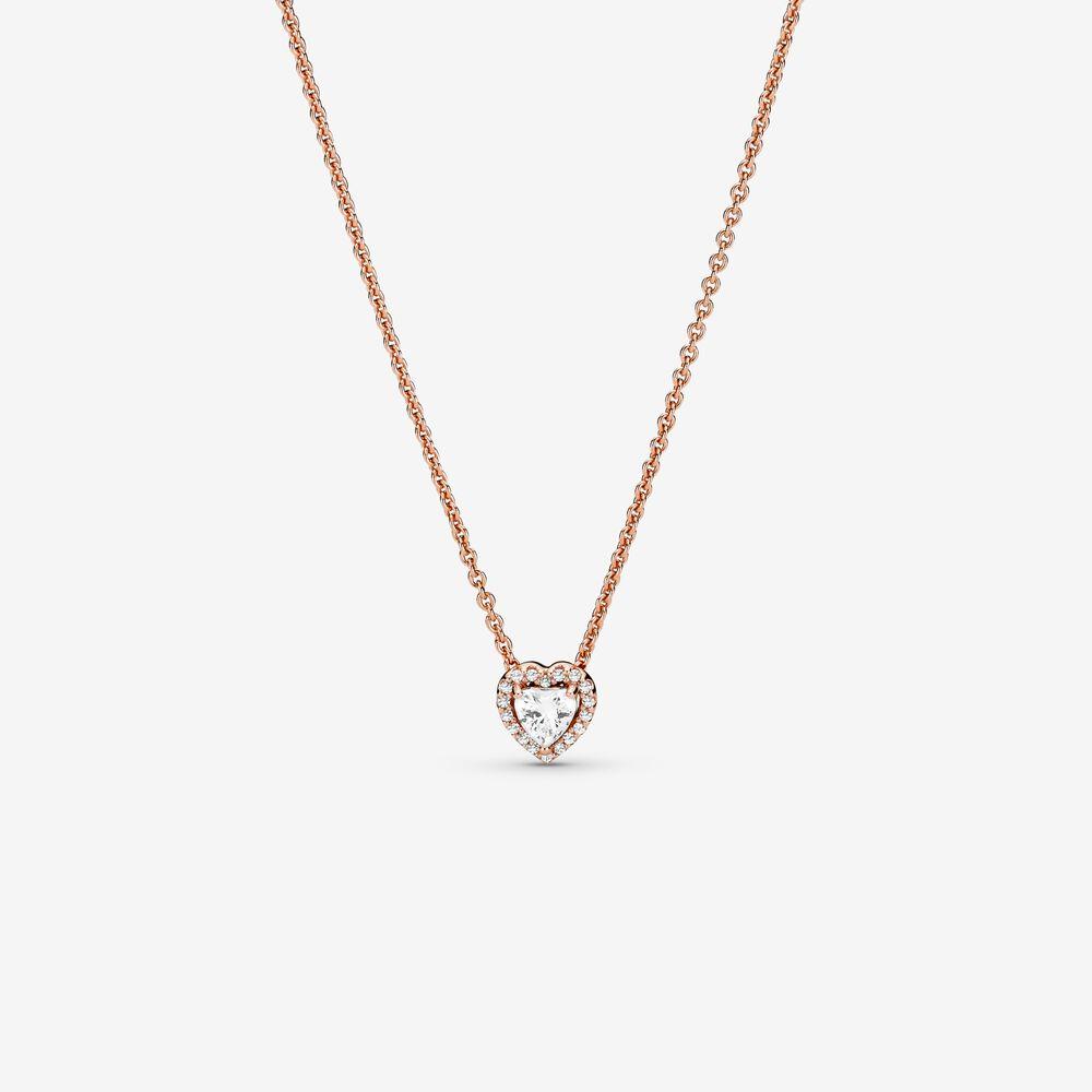 Sparkling Heart Collier Necklace | Pandora SG