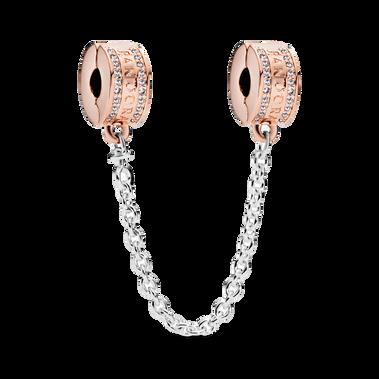 Pandora Logo Safety Chain Clip Charm