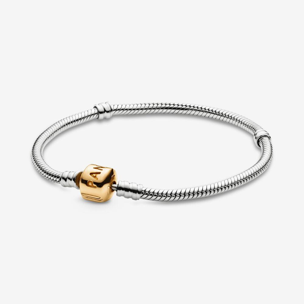 Pandora Moments Snake Chain Bracelet   Pandora SG