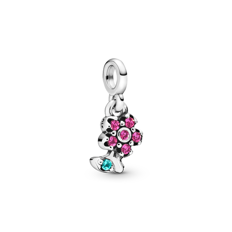 My Pretty Flower Dangle Charm