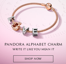 PANDORA Alphabet Collection. SHOP NOW!