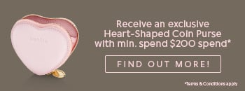 Heart-ShapedCoin Purse Promotion. Click here to find out more!